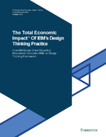 IBM's Design Thinking Practice: ROI Case Study