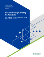 Thought Leadership: Don't Get Caught Waiting on Fast Data