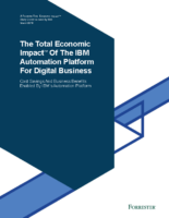 IBM Automation Platform for Digital Business: ROI Case Study